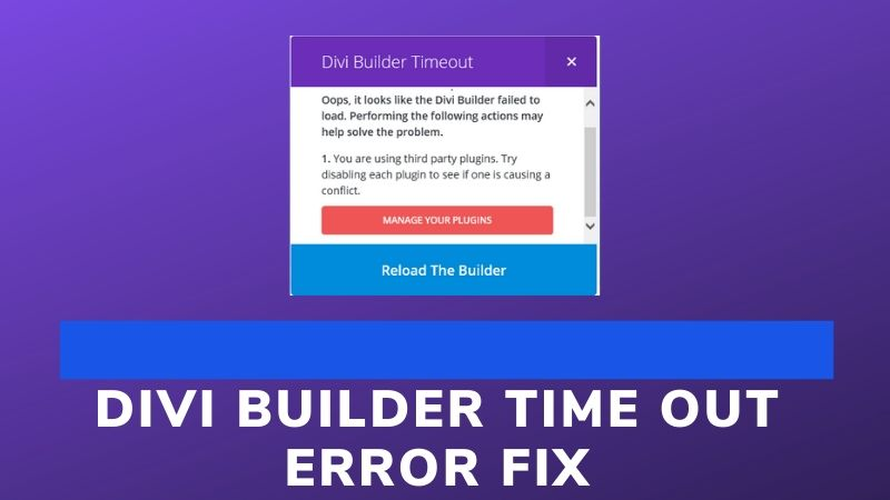 Hacked: 5 Simple Tips to Fix the Divi Builder Timeout Error on Your WordPress Site
