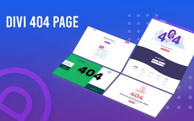 How To Create Divi 404 Page With Theme Builder?