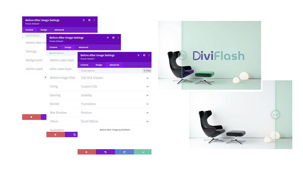 Divi Before After Image Module