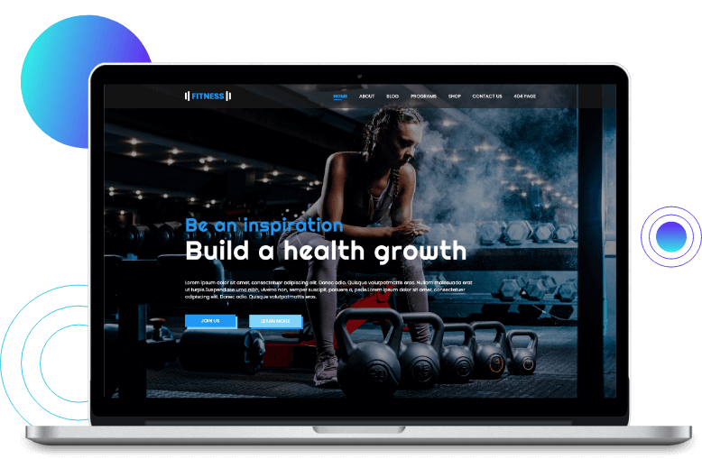 Diviflash free divi template for page building