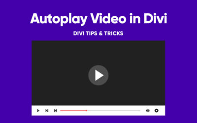 How to Autoplay Video in Divi?