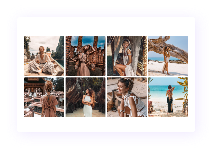 Divi Gallery Layout for Divi Demo